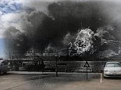 Pearl Harbor images: Incredible images combine black and white photographs from Pearl Harbor attack with color pictures of the same locations today for 72nd anniversary