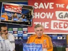 Real Madrid press conference disrupted in Denmark by Greenpeace