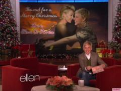 Ellen DeGeneres and Portia DeRossi's Christmas Card is Inspired by Kanye West's 'Bound 2′ Music Video