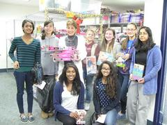 Girl Scouts Package 'Cheer' for San Mateo County Kids in Need